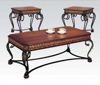 07743 3PC Coffee/End Table Set