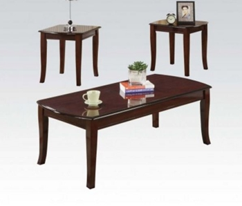 3PC Cherry C/E Tables Set