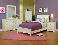 Dulce 52000 Series bed White