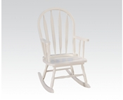 White Youth Rocking Chair