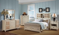 Pacifica Creme Bedroom Collection