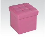 Pink Ottoman with Storage