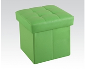 Green Ottoman with Storage