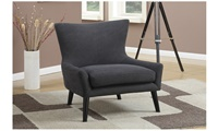 Accent Chair  Denim Charcoal