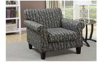 Accent Chair Print Forest