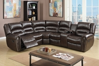 Reclining Sectional Theater Set
