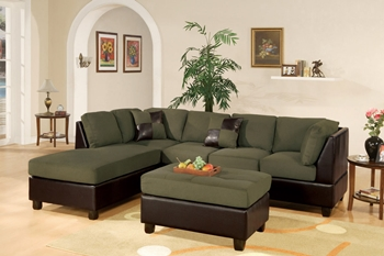 3PC Sage Sectional Sofa