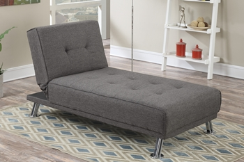 Adjustable Chaise Slate