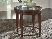 Leahlyn  Round End Table